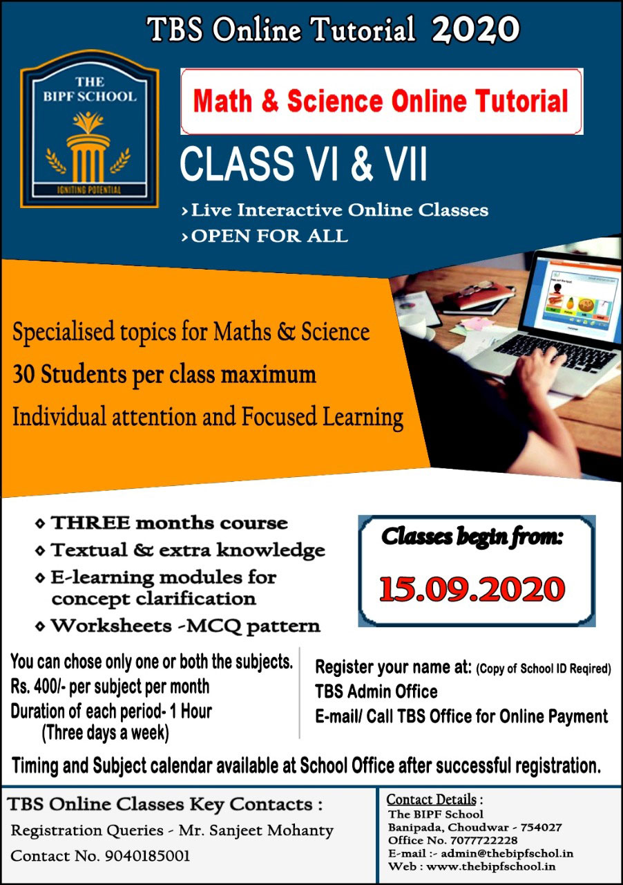 The BIPF School Online Tuterial